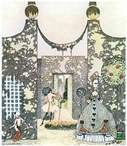 thumbnail Kay Nielsen – A look—a kiss—and he was gone (Rosanie or The Inconstant Prince) [from Kay Nielsen]