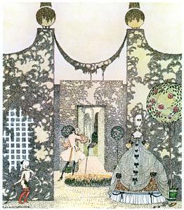 カイ・ニールセン – ロザニー姫と浮気な王子様 2 (Kay Nielsenより)のサムネイル画像