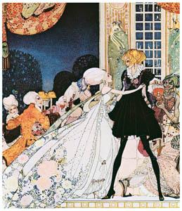 カイ・ニールセン – 12人の踊る姫君 2 (Kay Nielsenより)のサムネイル画像