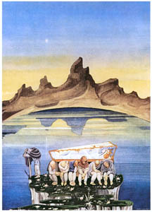 thumbnail Kay Nielsen – And they built a crystal coffin (Snow White) [from Kay Nielsen]