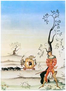 カイ・ニールセン – 三枚の鳥の羽 (Kay Nielsenより)のサムネイル画像
