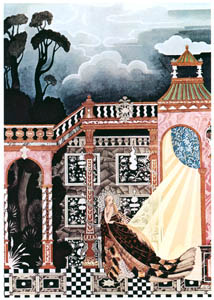 thumbnail Kay Nielsen – The King could not find her (Noir de Fumée) [from Kay Nielsen]