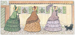 thumbnail Elsa Beskow – Plate 1 [from Aunt Green, Aunt Brown and Aunt Lavender]