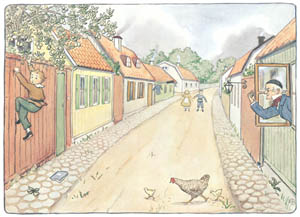 thumbnail Elsa Beskow – Plate 2 [from Aunt Green, Aunt Brown and Aunt Lavender]