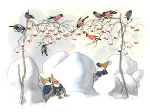 エルンスト・クライドルフ – ウソ烏といっしょに (ふゆのはなしより)のサムネイル画像