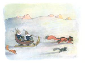 エルンスト・クライドルフ – そりに乗って (ふゆのはなしより)のサムネイル画像