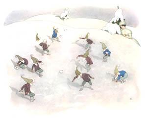 エルンスト・クライドルフ – 雪合戦 (ふゆのはなしより)のサムネイル画像