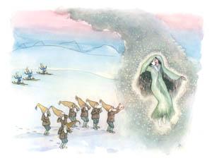 エルンスト・クライドルフ – 白雪姫との別れ (ふゆのはなしより)のサムネイル画像