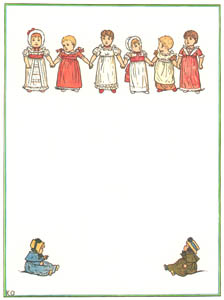 thumbnail Kate Greenaway – Under the Window Title Page [from Under the Window]