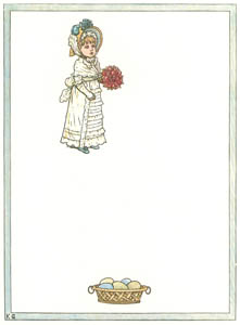 thumbnail Kate Greenaway – Will you be my little wife, If I ask you? Do! [from Under the Window]