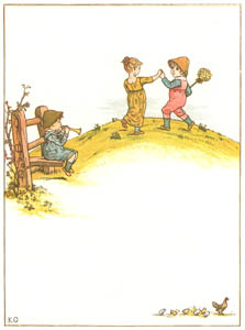 ケイト・グリーナウェイ – トランペットを吹いて 高く 低く 吹くよ 吹くよ (窓の下でより)のサムネイル画像