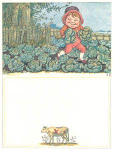 thumbnail Kate Greenaway – This little fat Goblin, A notable sinner [from Under the Window]