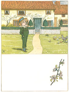 "thumbnail Kate Greenaway – It was Tommy who said,  ""The sweet spring-time is come [from Under the Window]"