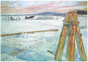 thumbnail Carl Larsson – Plate 3 [from A Farm: Paintings from a Bygone Age]