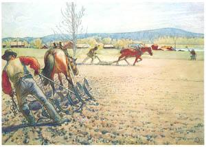 カール・ラーション – 作品6 (A Farm: Paintings from a Bygone Ageより)のサムネイル画像