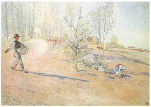 thumbnail Carl Larsson – Plate 7 [from A Farm: Paintings from a Bygone Age]