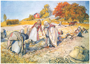thumbnail Carl Larsson – Plate 13 [from A Farm: Paintings from a Bygone Age]