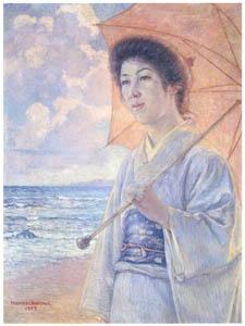 中澤弘光 – 夏 (生誕140年 中澤弘光展-知られざる画家の軌跡-より)のサムネイル画像