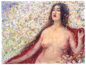 thumbnail Nakazawa Hiromitsu – Flower Storm [from Nakazawa Hiromitsu: Retrospective Exhibition of Commemorating the 140th Anniversaly of the Artist's Birth]