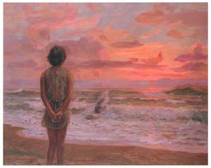 thumbnail Nakazawa Hiromitsu – Dawn [from Nakazawa Hiromitsu: Retrospective Exhibition of Commemorating the 140th Anniversaly of the Artist's Birth]