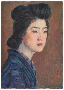 thumbnail Nakazawa Hiromitsu – Geisha (Koriki) [from Nakazawa Hiromitsu: Retrospective Exhibition of Commemorating the 140th Anniversaly of the Artist's Birth]