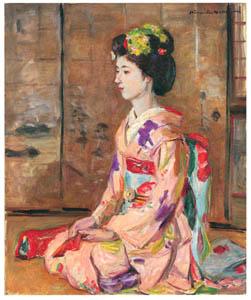 thumbnail Nakazawa Hiromitsu – Dancing Girl [from Nakazawa Hiromitsu: Retrospective Exhibition of Commemorating the 140th Anniversaly of the Artist's Birth]