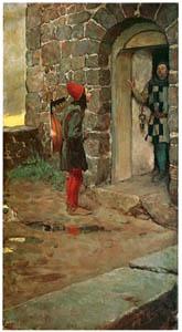 ハワード・パイル – 城の門にて (HOWARD PYLEより)のサムネイル画像