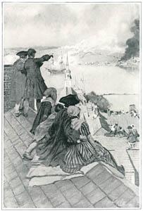 ハワード・パイル – 尖塔から見る戦い (HOWARD PYLEより)のサムネイル画像