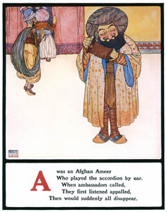 thumbnail Edmund Dulac – A was an Afghan Ameer [from Lyrics Pathetic & Humorous from A to Z]