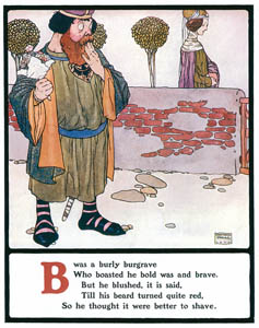 thumbnail Edmund Dulac – B was a burly burgrave [from Lyrics Pathetic & Humorous from A to Z]