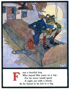 エドマンド・デュラック – Fは想像力に富むカエルでした (Lyrics Pathetic & Humorous from A to Zより)のサムネイル画像