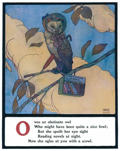 エドマンド・デュラック – Oはがんこなフクロウでした (Lyrics Pathetic & Humorous from A to Zより)のサムネイル画像