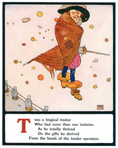 thumbnail Edmund Dulac – T was a tragical traitor [from Lyrics Pathetic & Humorous from A to Z]