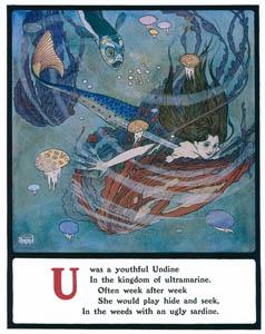 エドマンド・デュラック – Uは若々しいウンディーネでした (Lyrics Pathetic & Humorous from A to Zより)のサムネイル画像