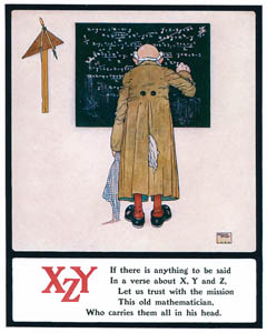 thumbnail Edmund Dulac – If there is anything to be said In a verse about X, Y and Z, [from Lyrics Pathetic & Humorous from A to Z]