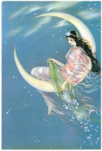須藤しげる – 月姫 (少女倶楽部) (須藤しげる抒情画集より)のサムネイル画像