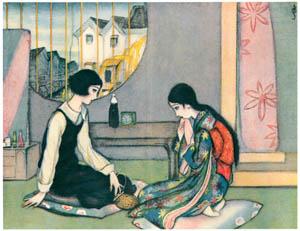 須藤しげる – 返らぬ日 (令女界) (須藤しげる抒情画集より)のサムネイル画像