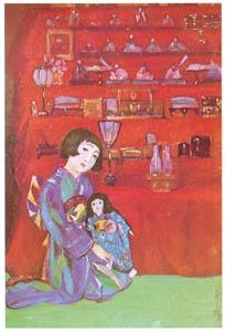 須藤しげる – 雛祭 (須藤しげる抒情画集より)のサムネイル画像