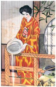 須藤しげる – 冬子 (婦人倶楽部) (須藤しげる抒情画集より)のサムネイル画像