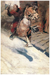 thumbnail N. C. Wyeth – Hopalong Cassidy [from The Great American Illustrators]