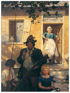 thumbnail N. C. Wyeth – A Termagant Wife [from The Great American Illustrators]