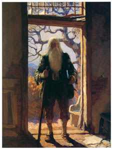 thumbnail N. C. Wyeth – Rip Returns Home [from The Great American Illustrators]