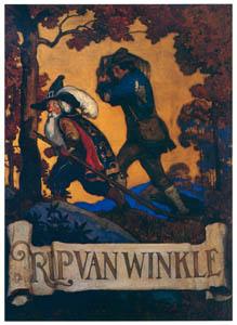 thumbnail N. C. Wyeth – Rip van Winkle [from The Great American Illustrators]