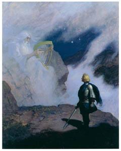 N・C・ワイエス – ウォレスの幻想 (黄金時代の画家たち アメリカン・イラストレーション展カタログより)のサムネイル画像