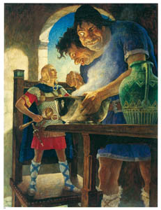 thumbnail N. C. Wyeth – Jack the Giant Killer [from The Great American Illustrators]