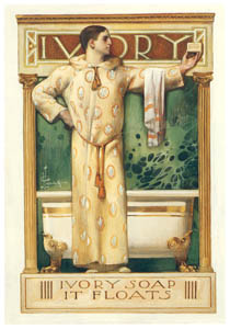 thumbnail J. C. Leyendecker – Ivory Soap: It Floats [from The Great American Illustrators]