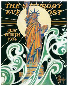 J・C・ライエンデッカー – 自由の女神像 (黄金時代の画家たち アメリカン・イラストレーション展カタログより)のサムネイル画像