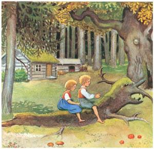 エルサ・ベスコフ – 挿絵1 (カイとカイサのぼうけんより)のサムネイル画像