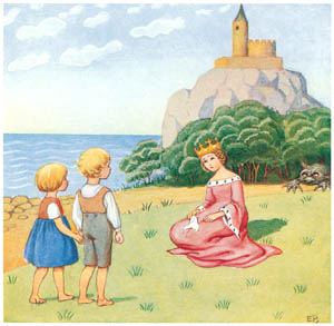 thumbnail Elsa Beskow – Plate 3 [from The Land of Long Ago]