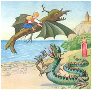 エルサ・ベスコフ – 挿絵4 (カイとカイサのぼうけんより)のサムネイル画像
